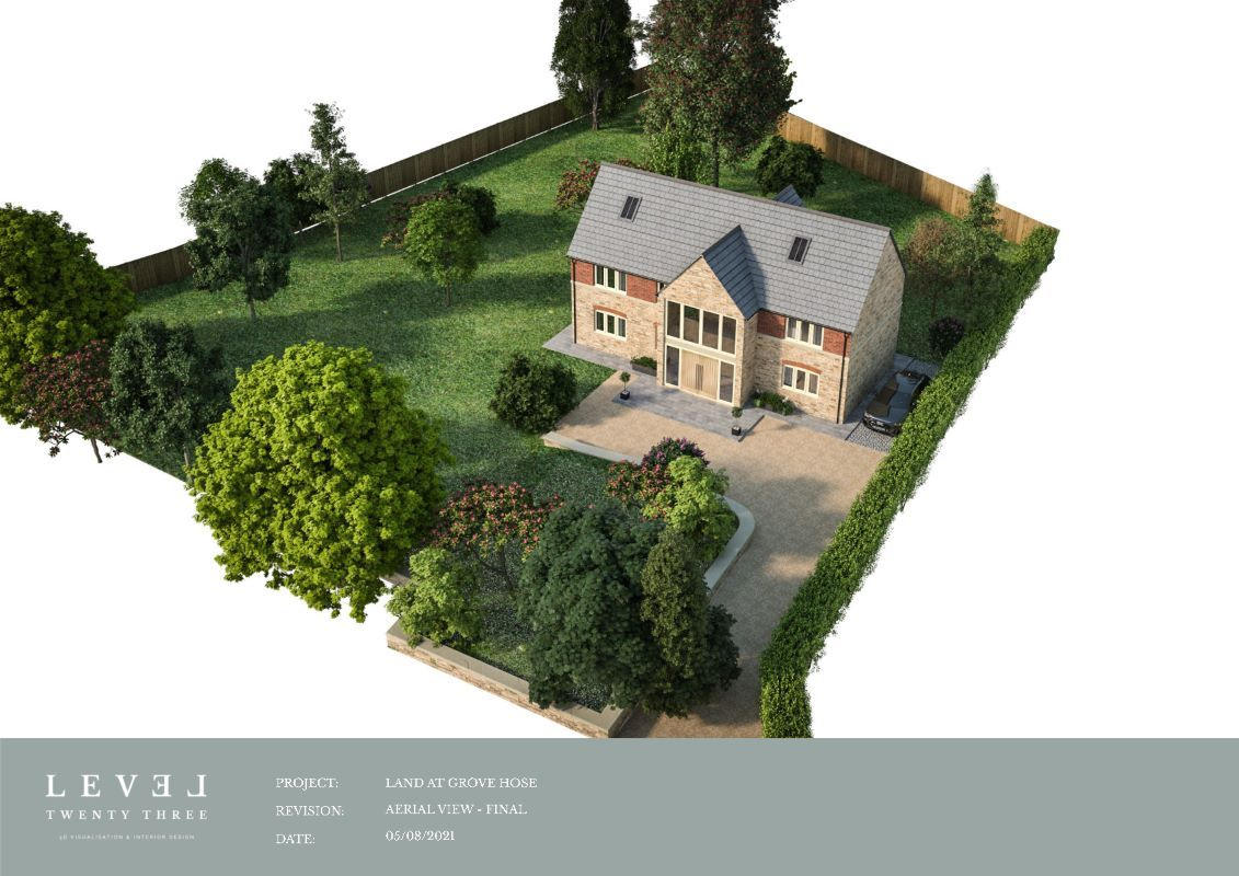 Building plot to rear of Grove House, Lower Blunsdon, Swindon